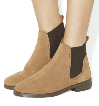 Womens-Office-Jamie-Chelsea-Boots-TAN-SUEDE-Boots