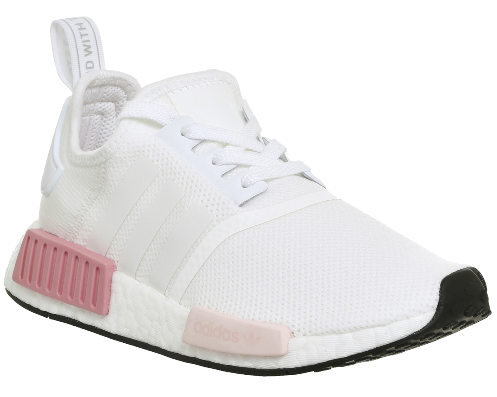 adidas nmd r1 white icey pink trainers shoes ebay. Black Bedroom Furniture Sets. Home Design Ideas