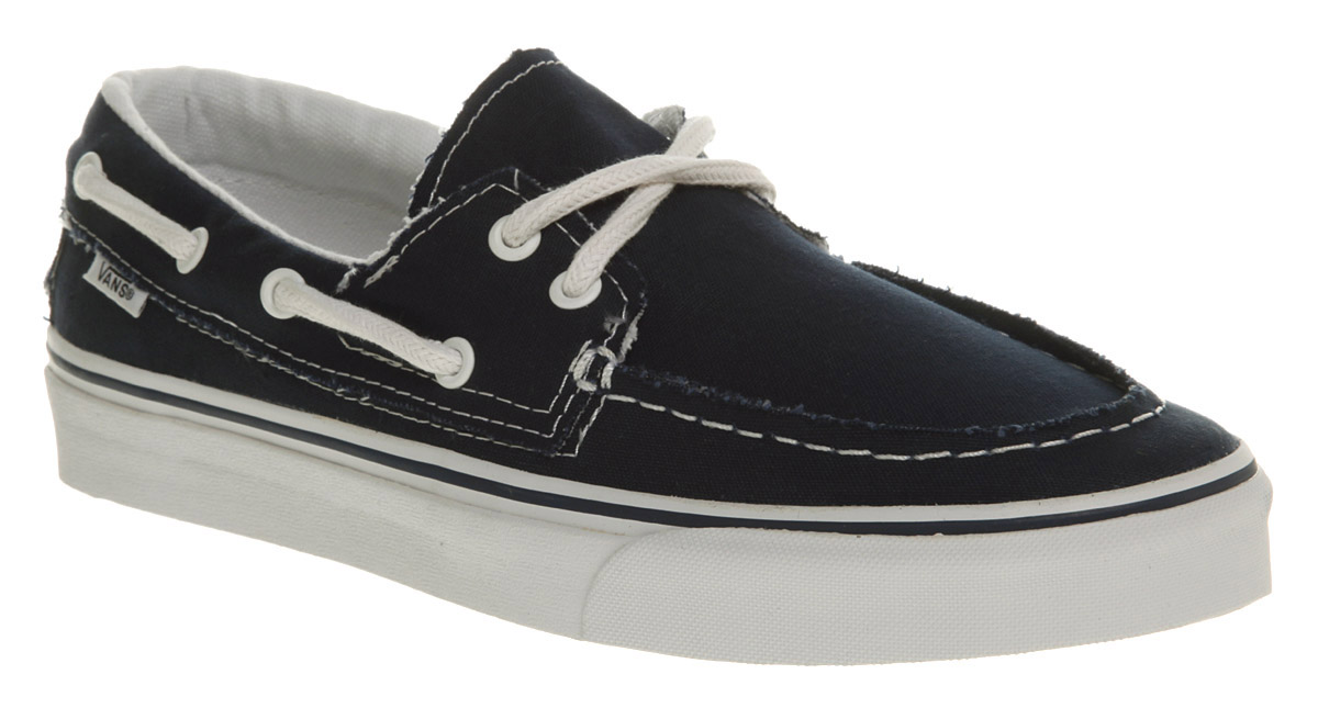 Vans Blue Boat Shoes