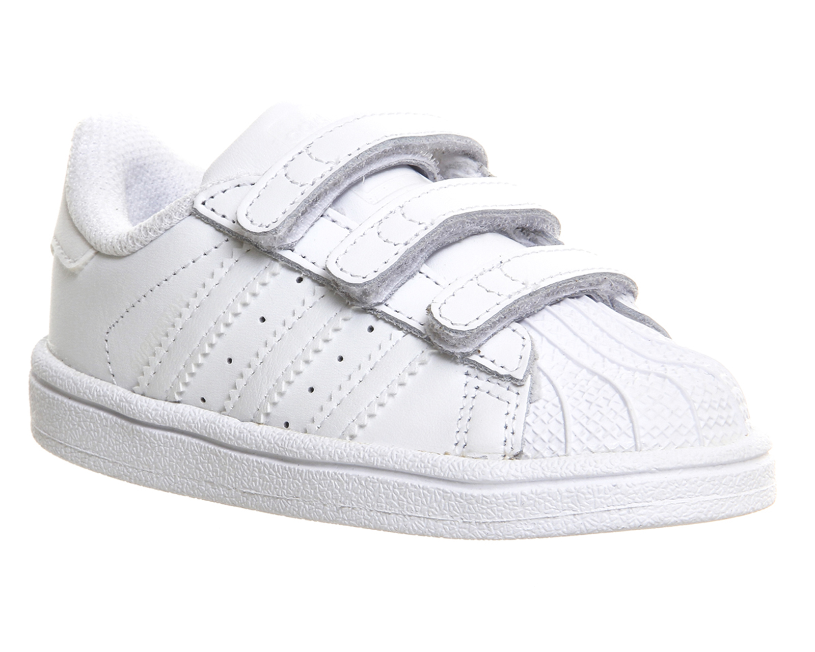 adidas blancas velcro