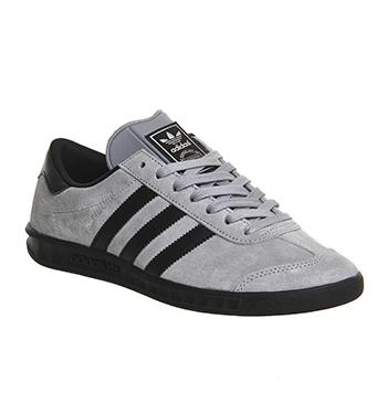 adidas hamburg grey and black