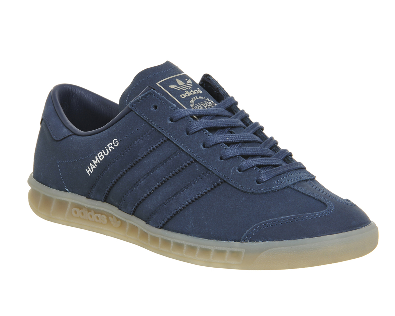 adidas hamburg dark blue gum