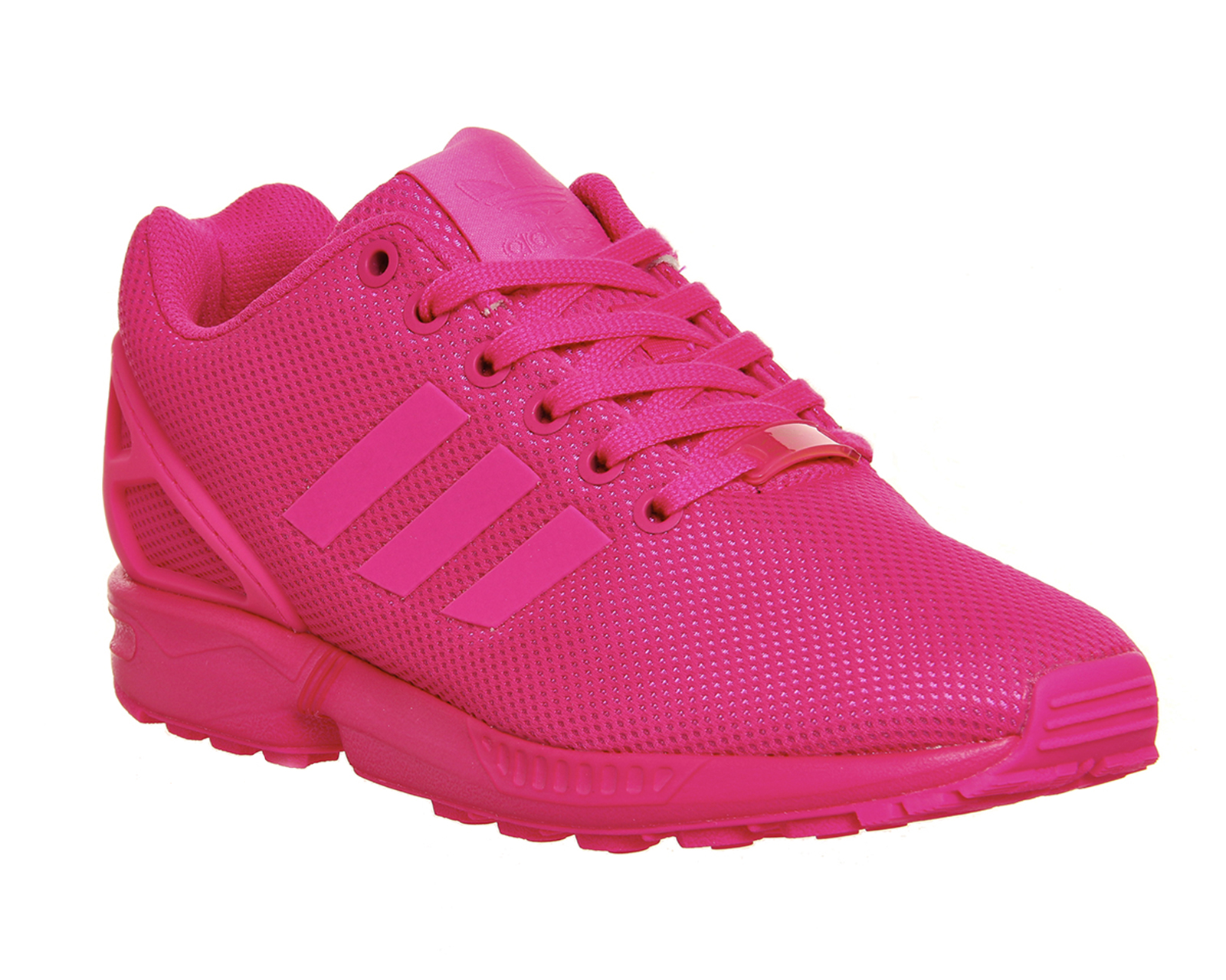 mens adidas zx flux shock pink mono trainers shoes ebay. Black Bedroom Furniture Sets. Home Design Ideas