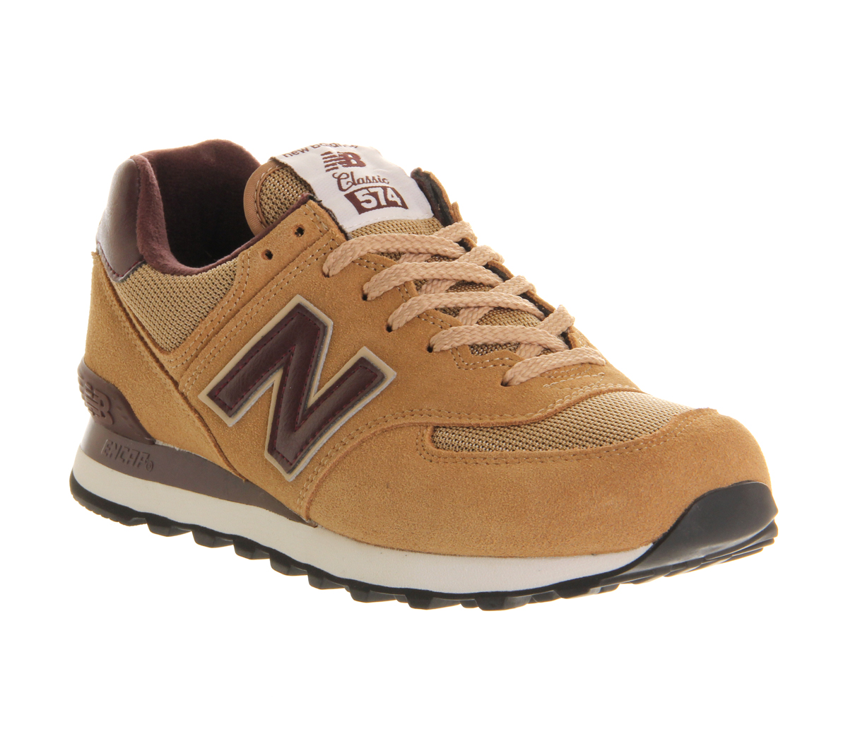 new balance 574 mens brown