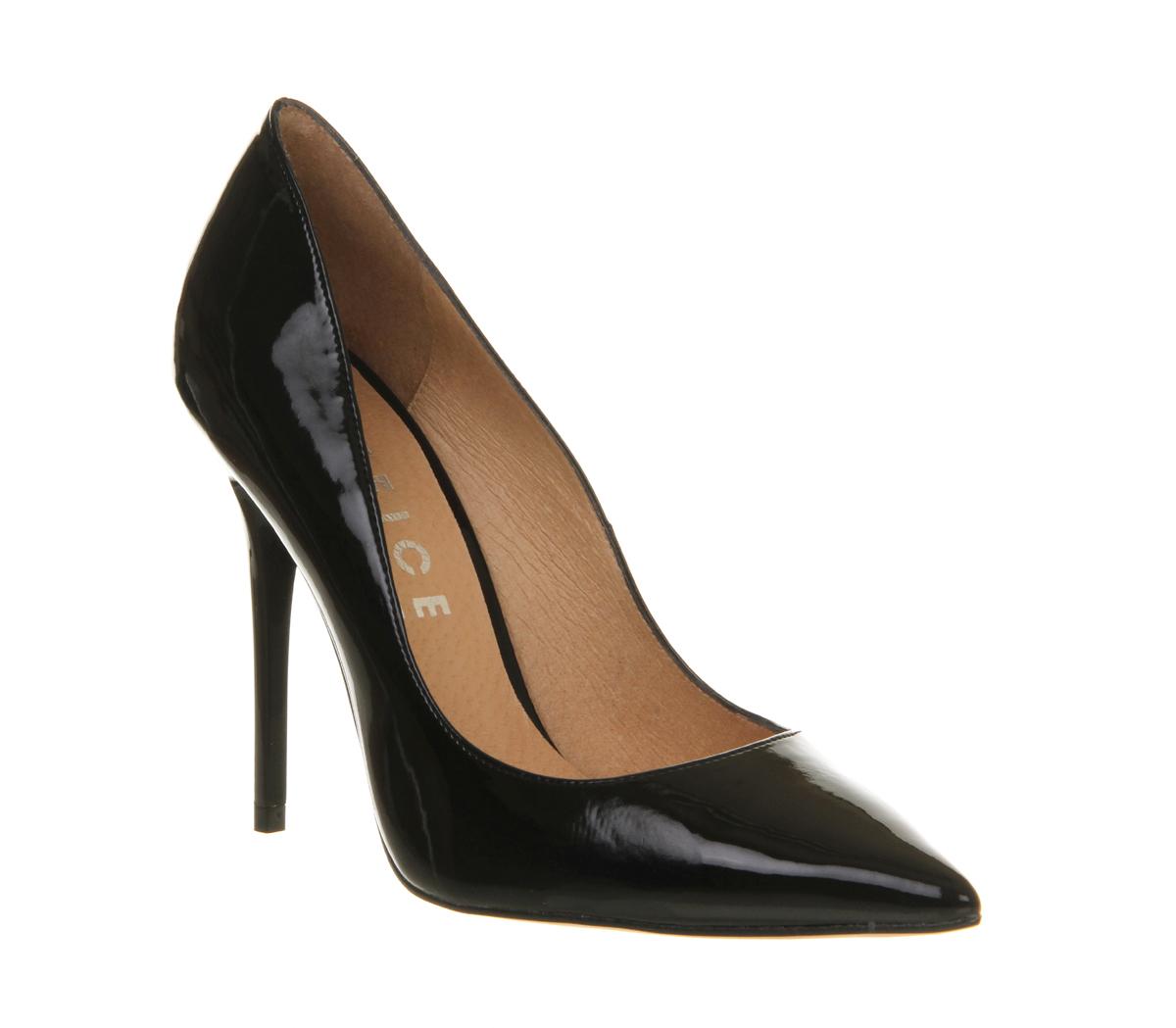 Patent Heels Black