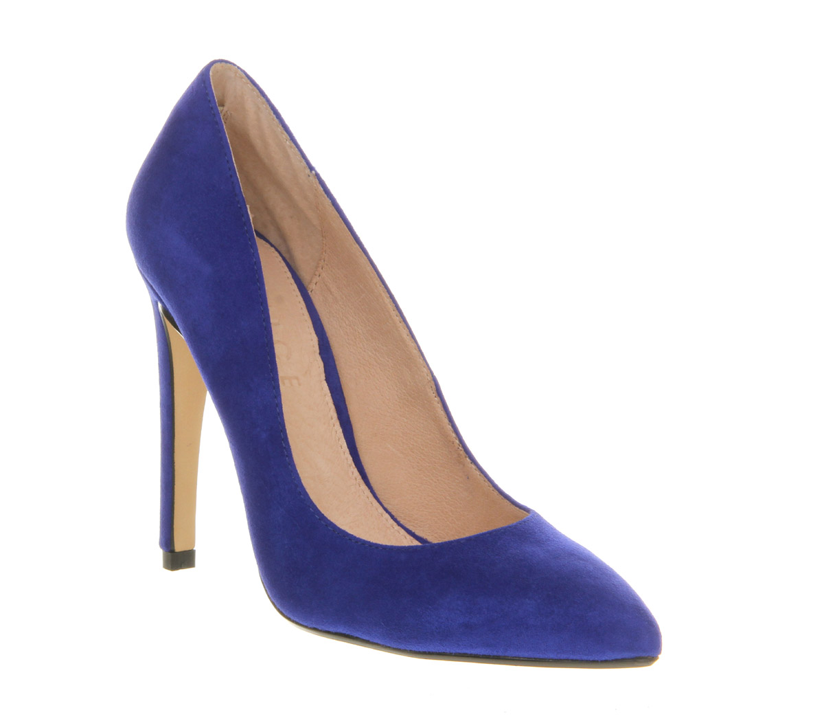 Cobalt blue heels - Heels : Mince His Words