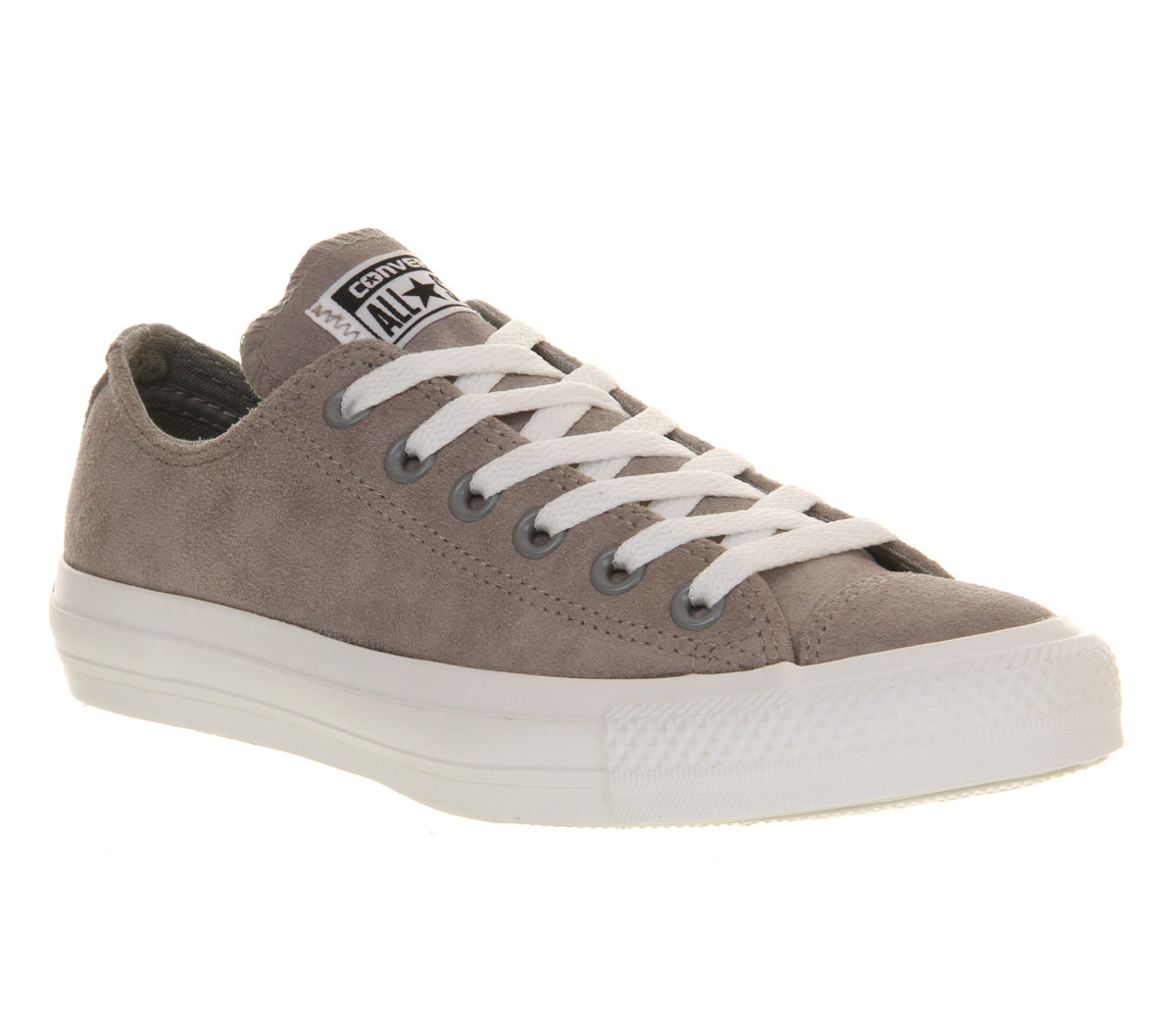 Image is loading Mens-Converse-Converse-All-Star-Low-GREY-SUEDE-