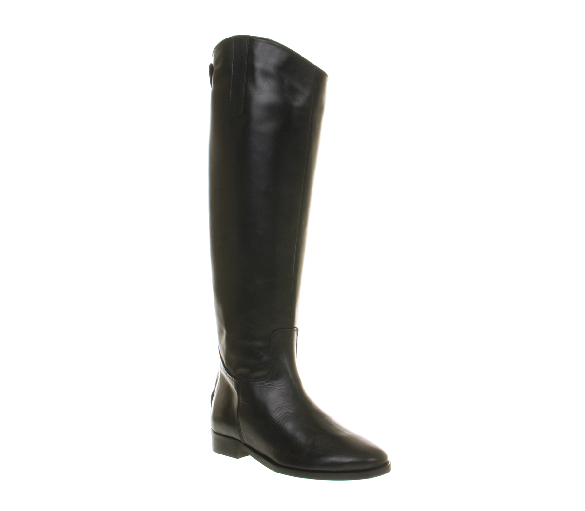 womens office all out boot black leather boots