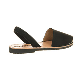 Womens Solillas Solillas Sandals Black Leather Sandals