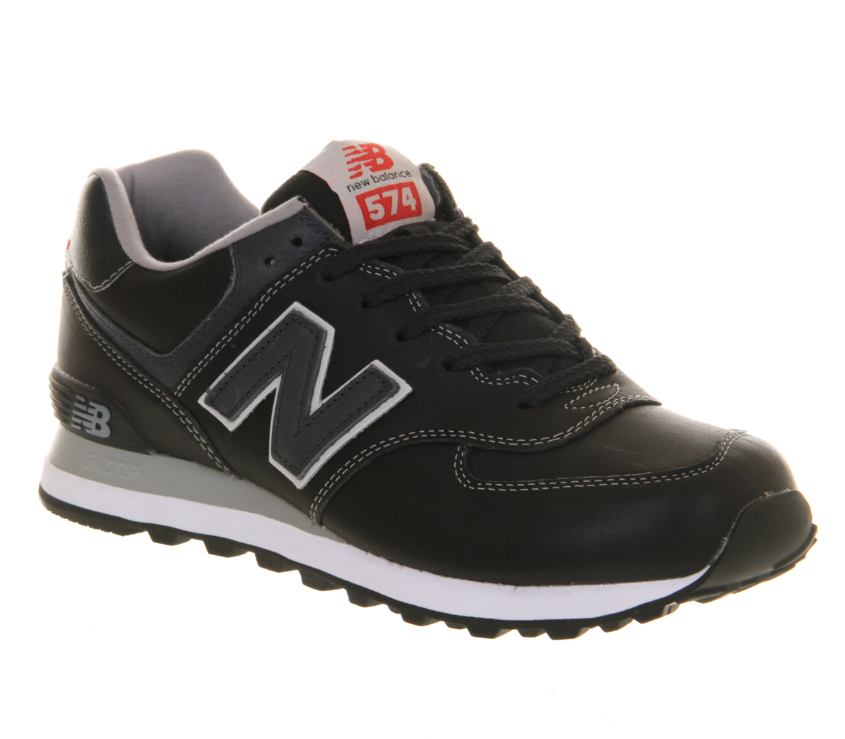 New-Balance-New-Balance-M574-NAVY-LEATHER-EXCLUSIVE-Trainers-Shoes