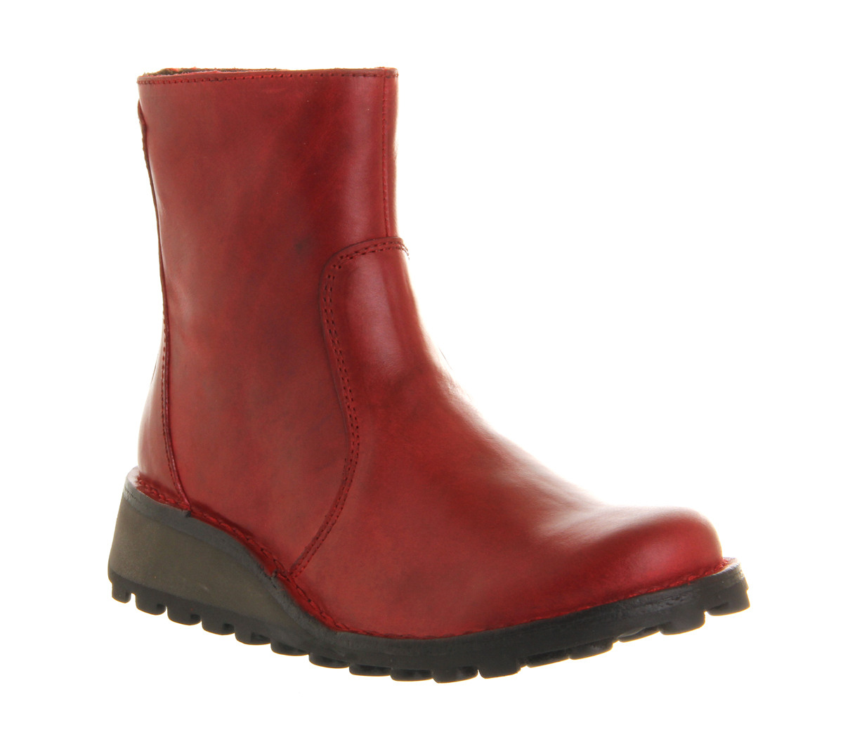 womens fly masi low wedge ankle boot rug boots