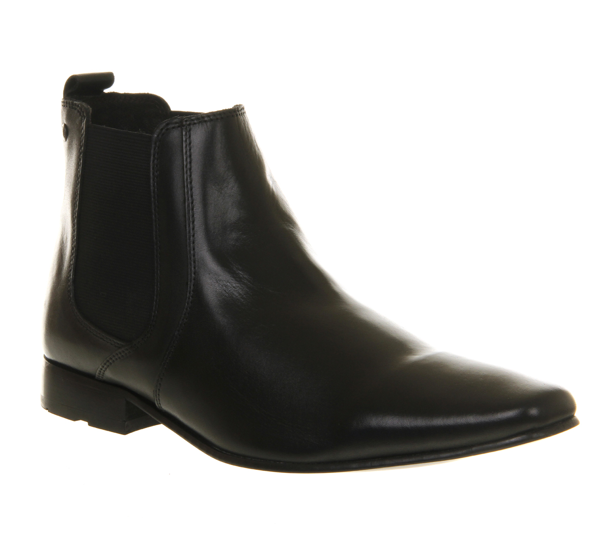mens base arthur chelsea boot black leather boots ebay