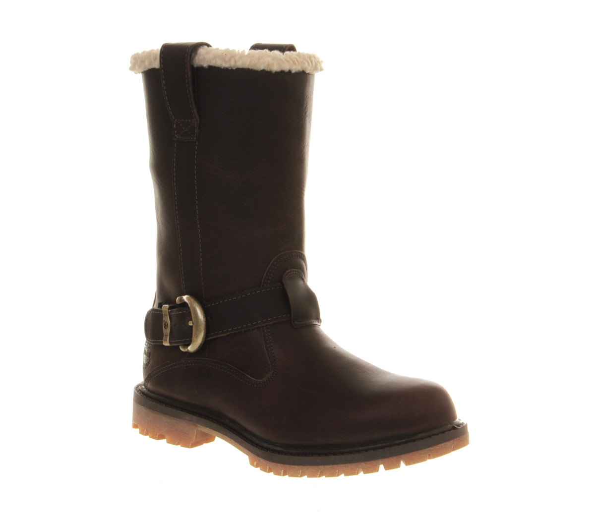 womens timberland nellie pull on boot brown forty