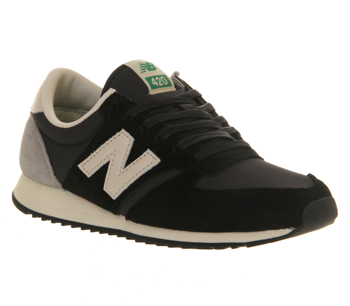 Mens-New-Balance-U420-BLACK-Trainers-Shoes