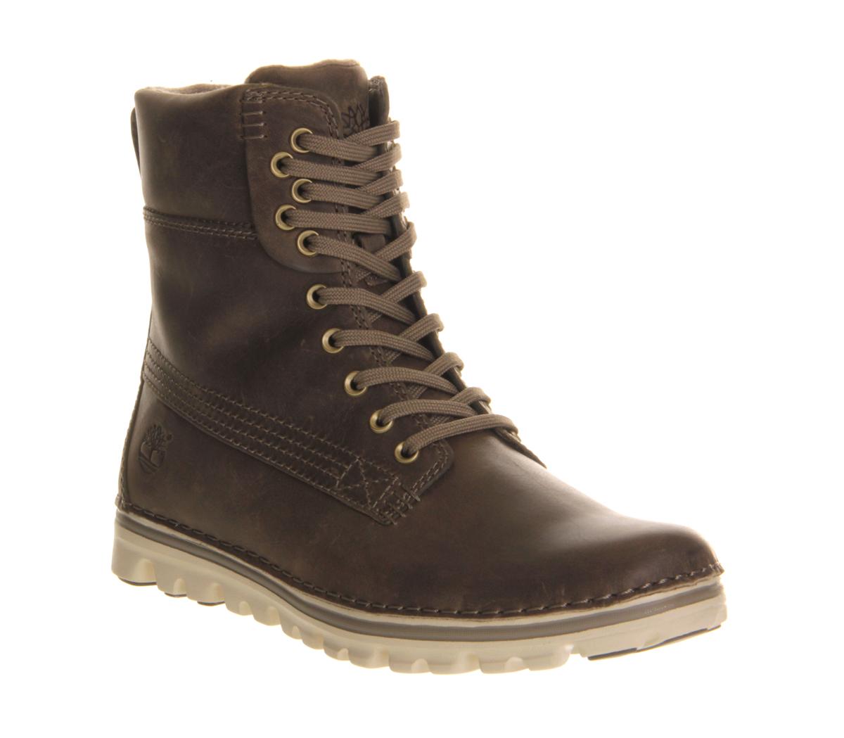 womens timberland ek brookton 6 inch classic grey boots