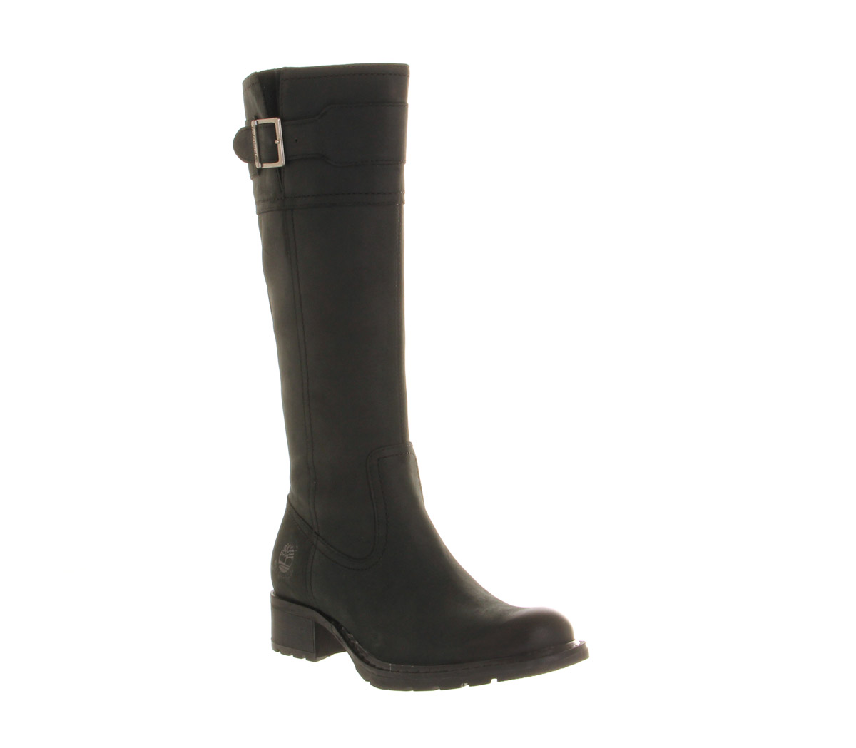 womens timberland charles high black leather boots
