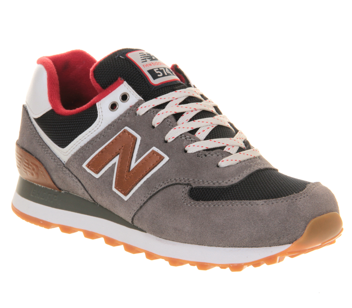 New-Balance-New-Balance-M574-GREY-RED-BROWN-Trainers-Shoes
