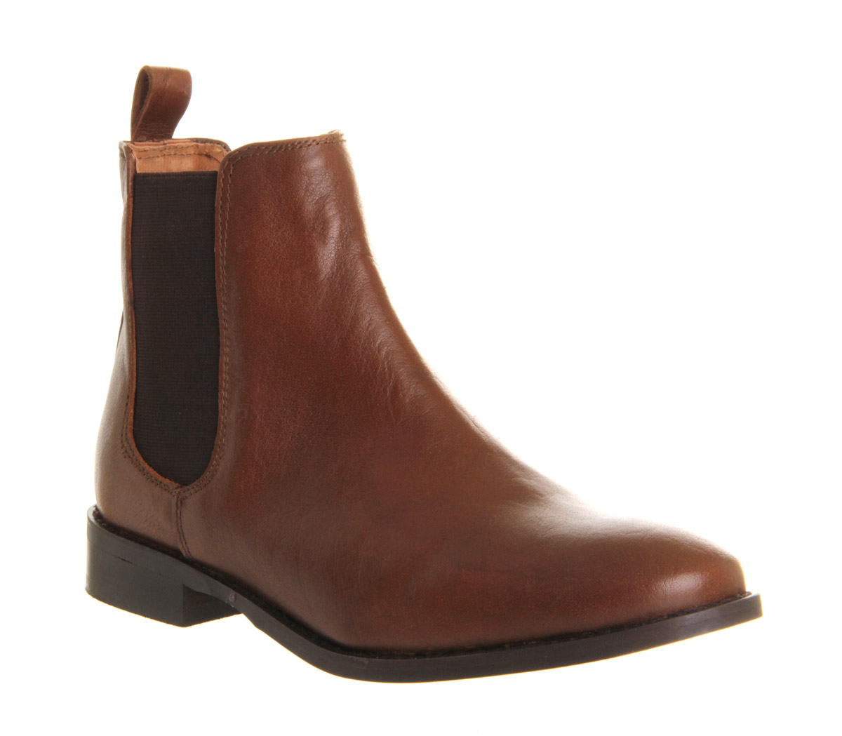 Brilliant   Joules  Joules Womens Westbourne Oxblood Leather Chelsea Boot