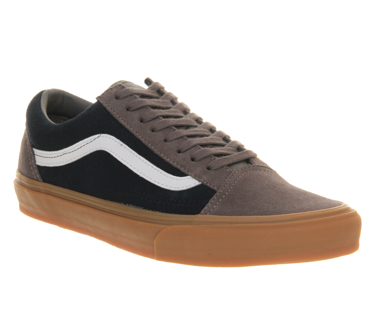 vans old skool navy blue suede