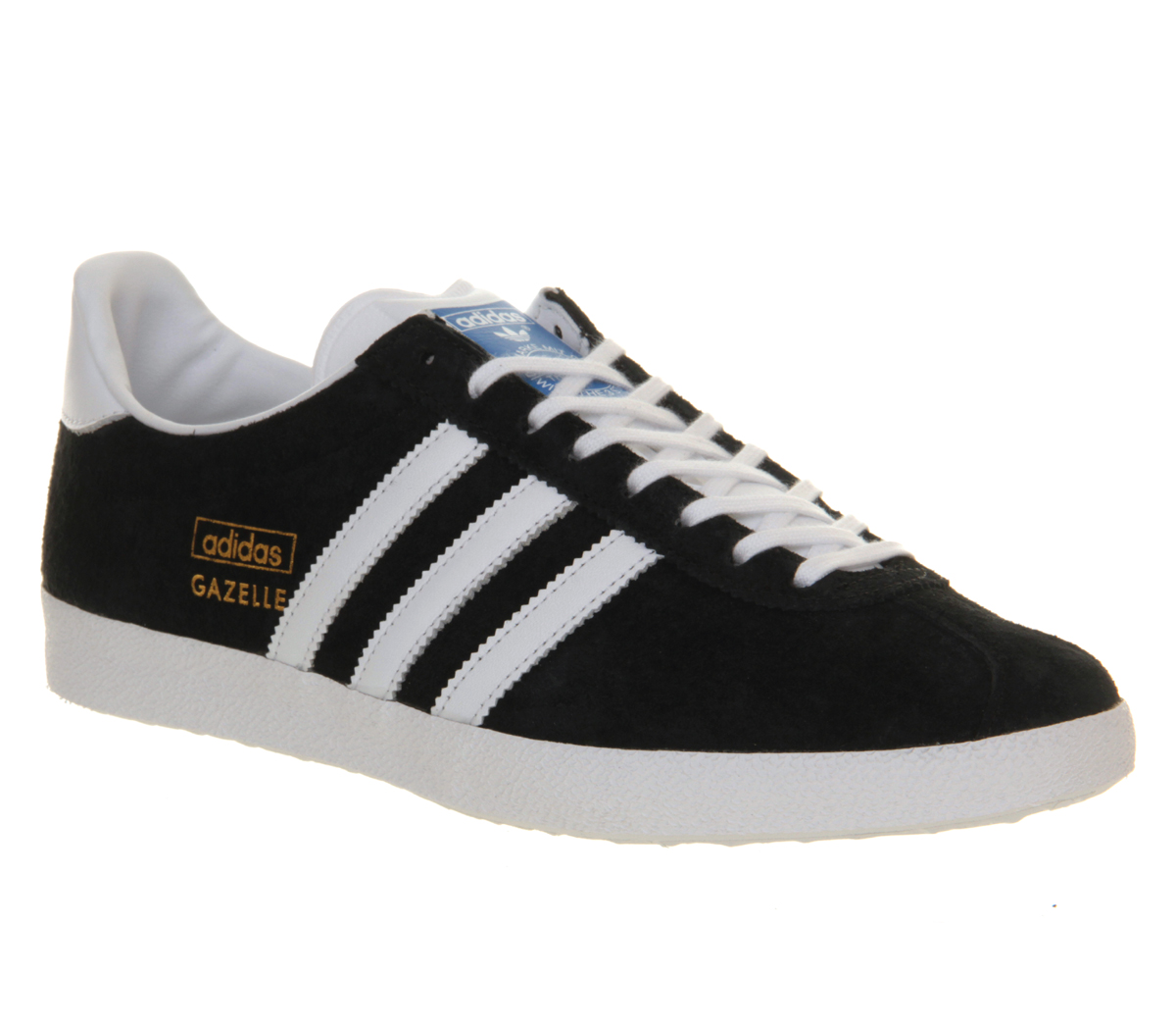 Adidas Gazelle Black White Ebay