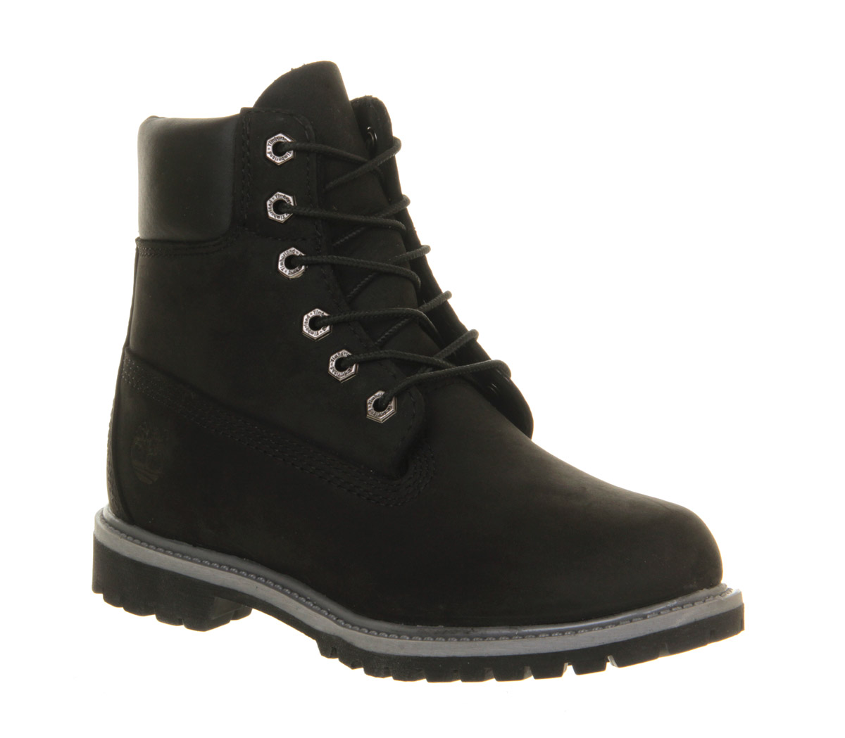 Popular Timberland Womens Authentic 6 Inch Wool Winter Boot-All Black