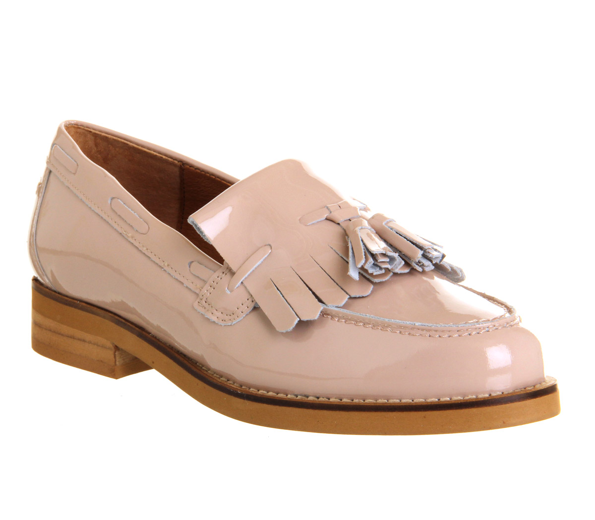 201d584f903 Womens office extravaganza loafers nude patent leather flats ebay jpg  1200x1049 Tan womens loafers