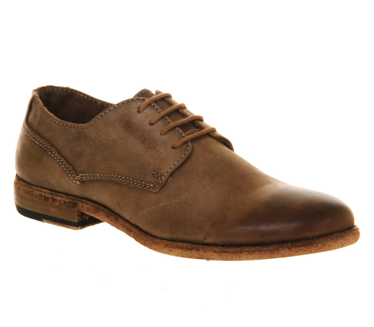 Womens-Ten-Points-Chantilly-Shoe-BROWN-LEATHER-Flats