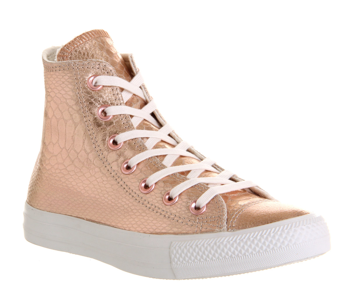 mens converse converse all star hi rose gold snake trainers shoes ebay. Black Bedroom Furniture Sets. Home Design Ideas