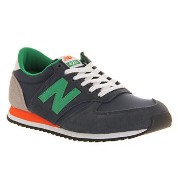 new balance green orange