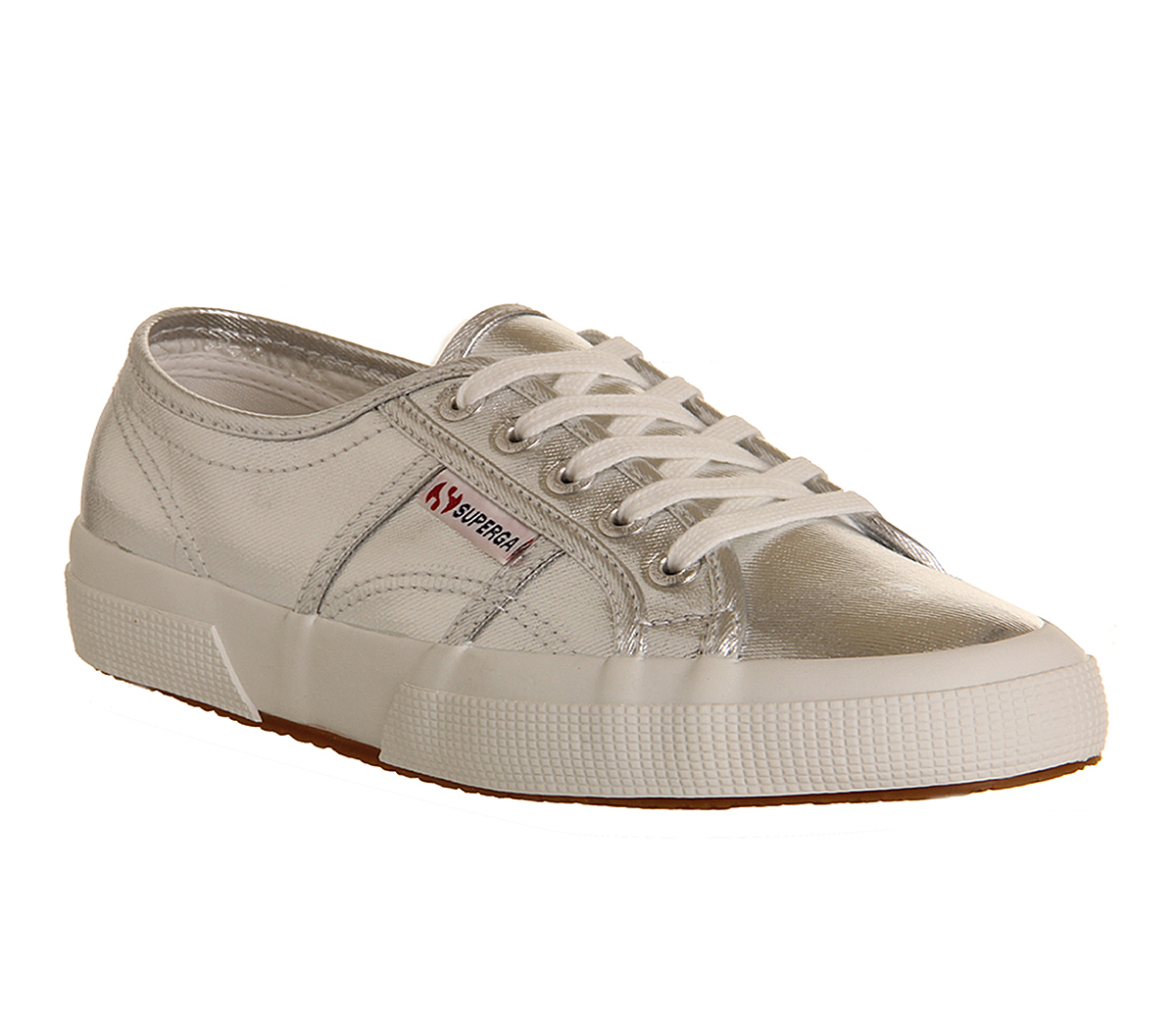 womens superga 2750 trainers silver cometu trainers shoes ebay. Black Bedroom Furniture Sets. Home Design Ideas