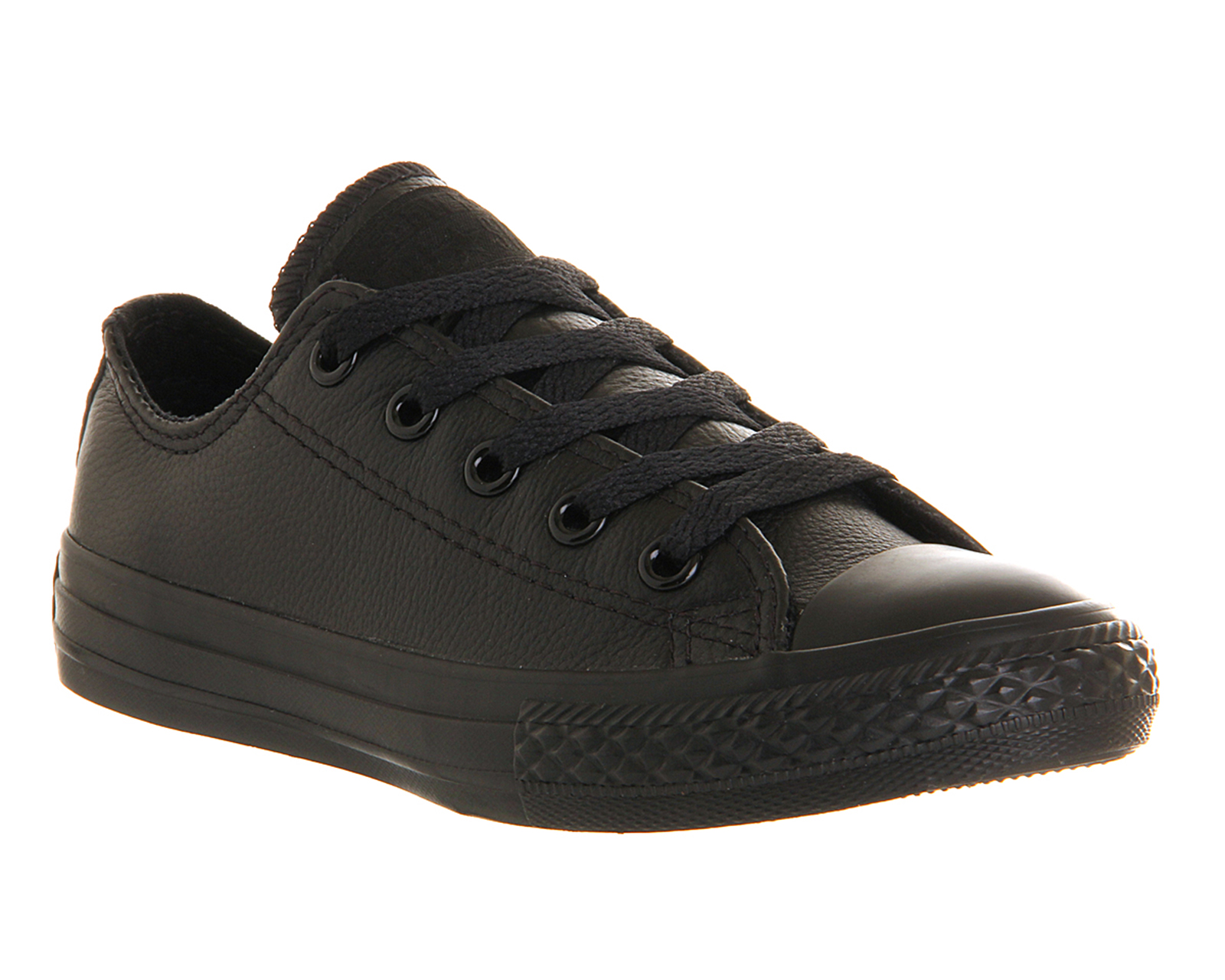 converse all ox leather black mono ebay