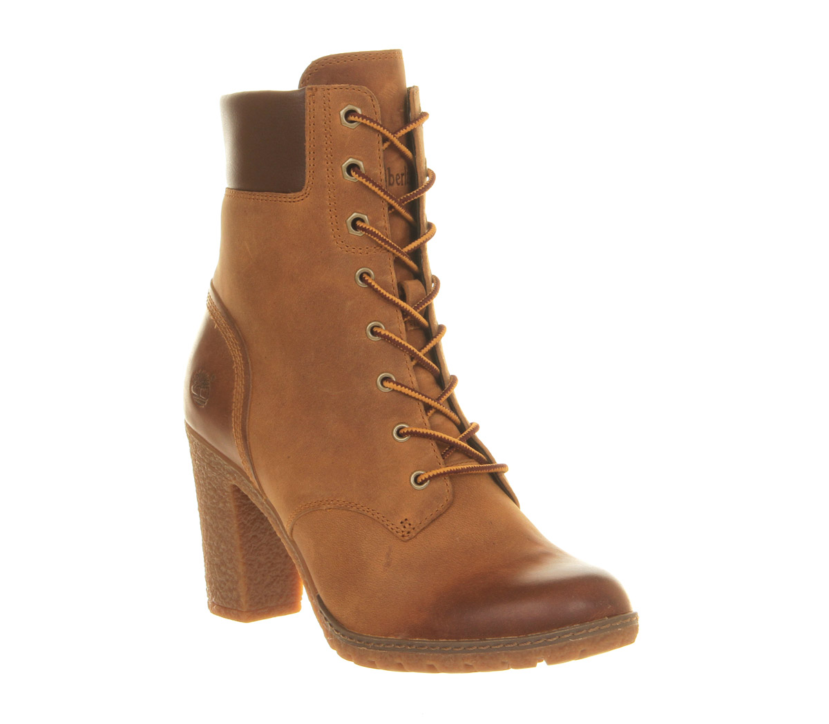 womens timberland glancy 6 inch heel boot wheat boots ebay