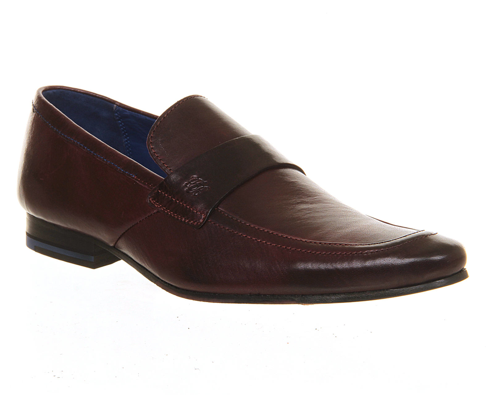 mens ted baker fotiu loafer leather formal shoes
