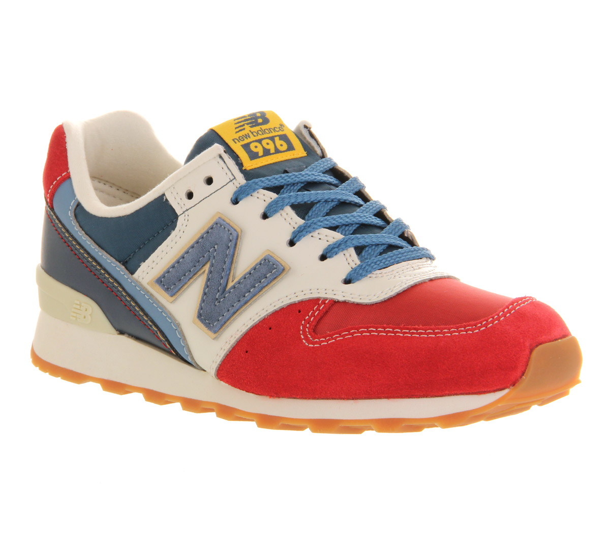 new balance wr996 red blue white trainers shoes ebay. Black Bedroom Furniture Sets. Home Design Ideas