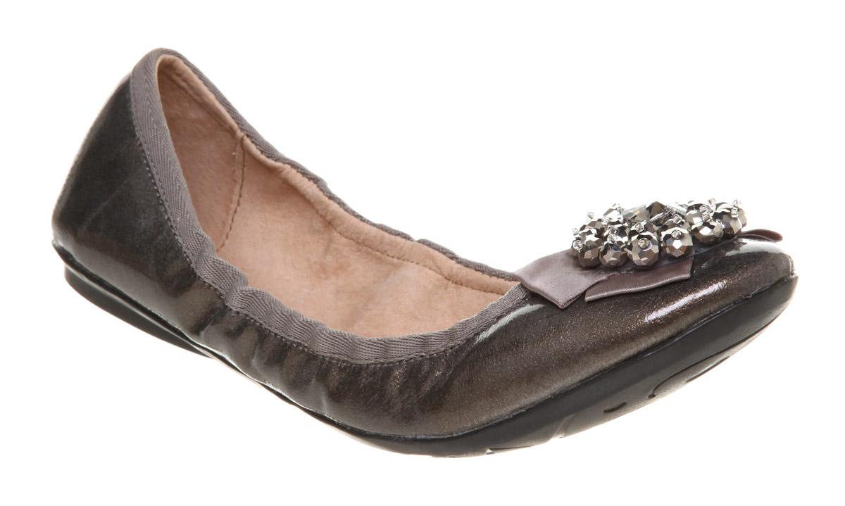 Office Ladies Pewter Shoes Uk