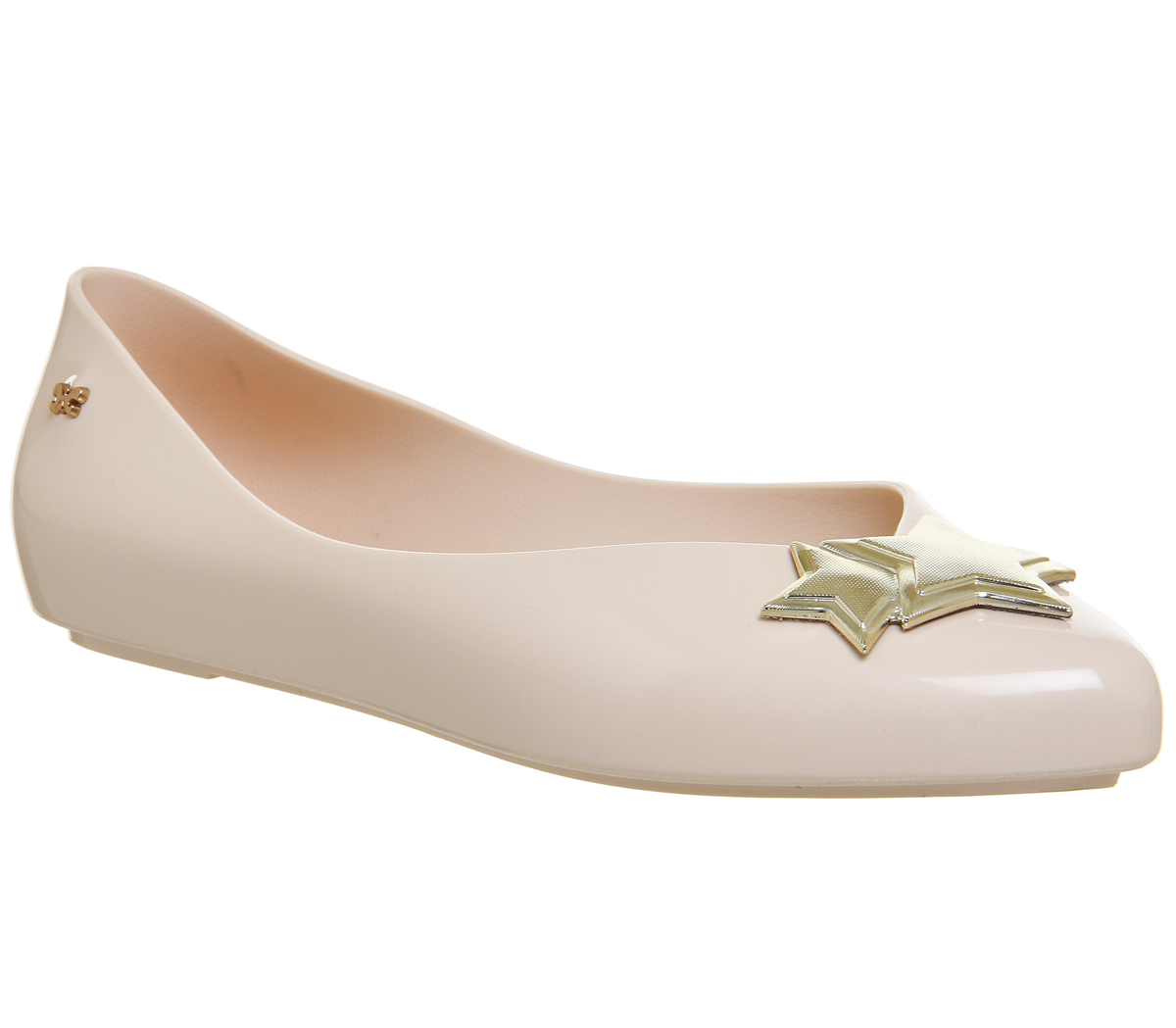 Womens Zaxy Chic Pumps Nude Star Flats