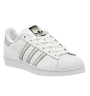 Adidas Originals Superstar - Baskets Basses - White/Silver Metal