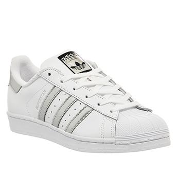 Superstar Adidas Silver Glitter herbusinessuk.co.uk