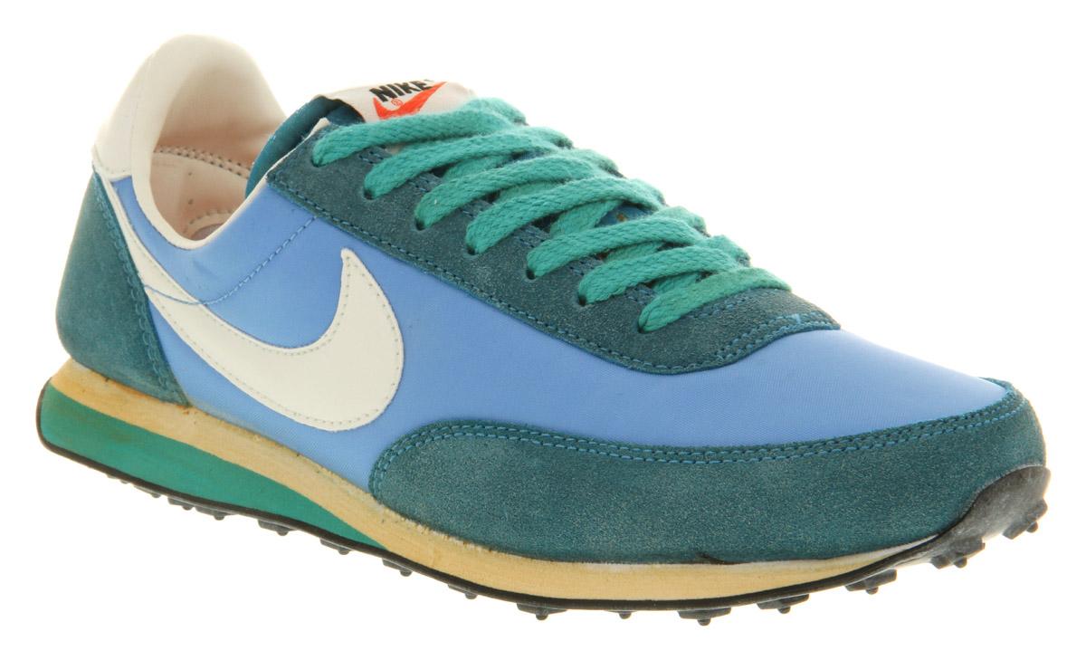 Mens Nike Elite Vintage Coast Blu Green Trainers Shoes Ebay