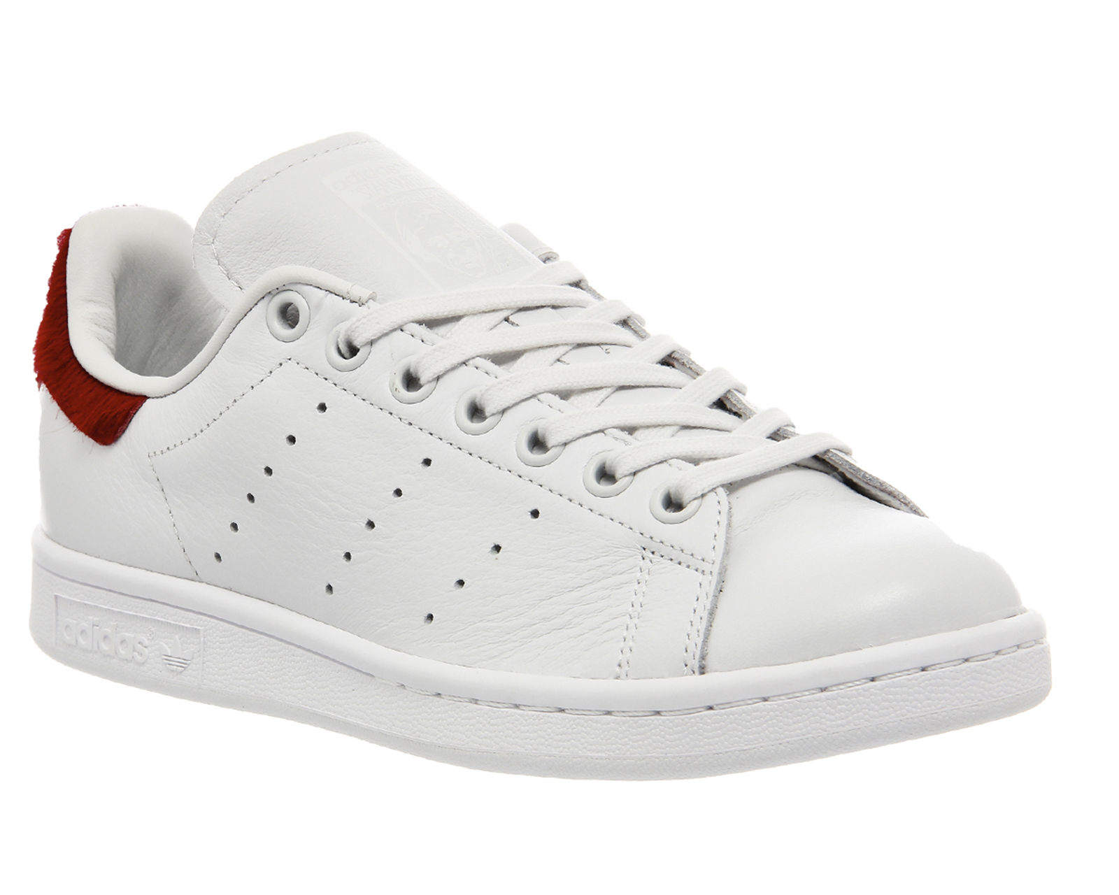 Adidas Stan Smith Red Trainers