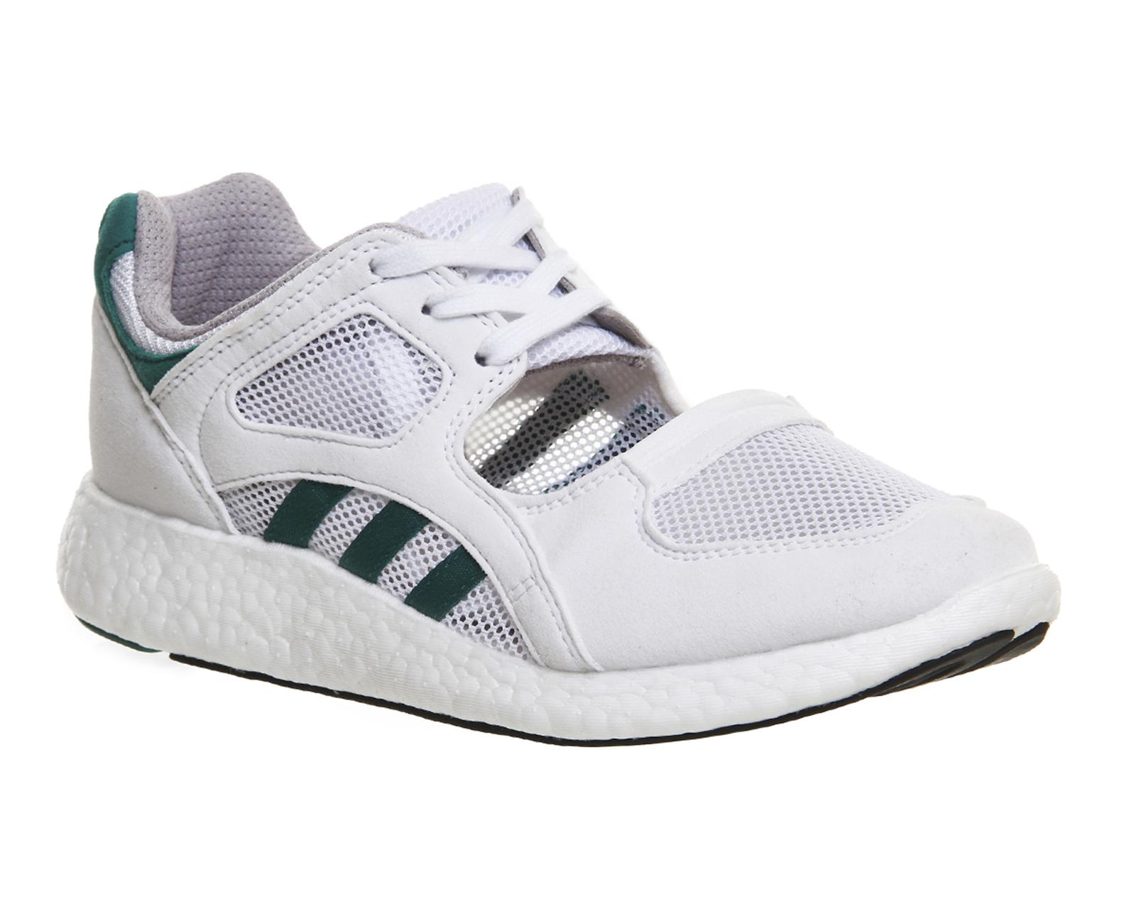 Adidas Equipment Racing Womens Trainers White Sub Green Core Black