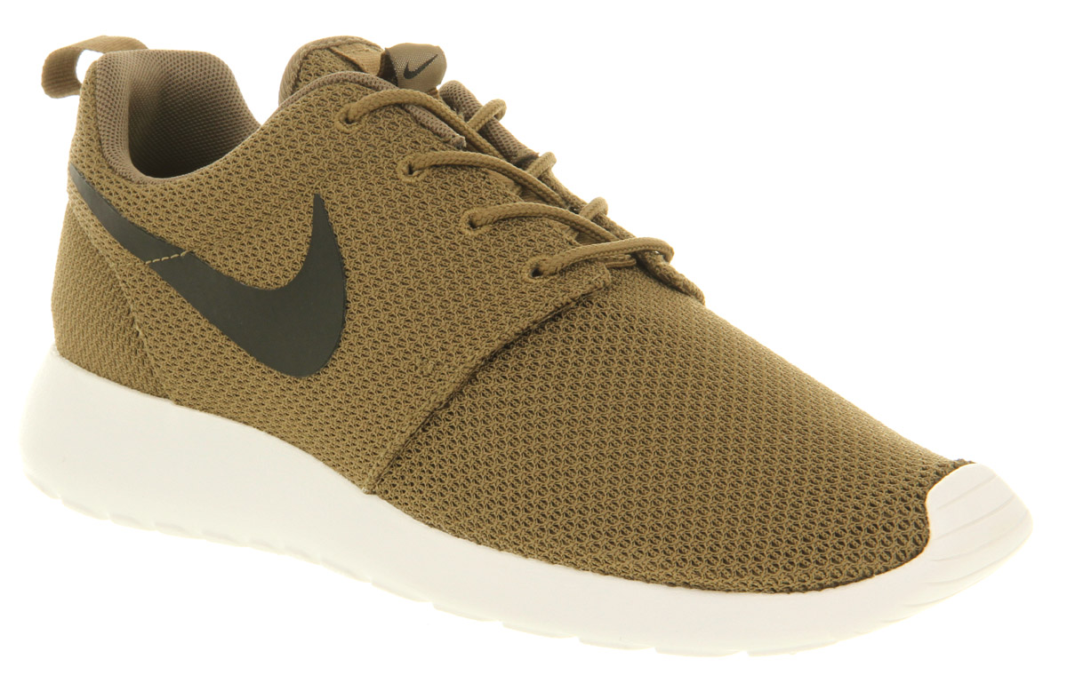 Mens Nike Roshe Run Iguana/blk/sail Trainers Shoes | eBay