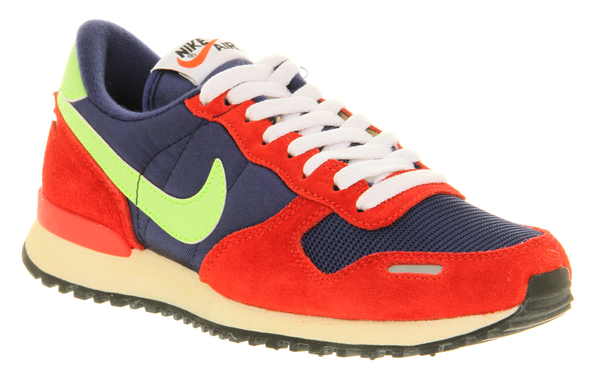 Womens nike air vortex vintage blu red yel sil trainers shoes ebay