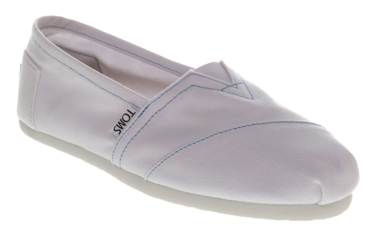 Toms-Classic-Slip-On-Espadrille-White-Canvas-Flats