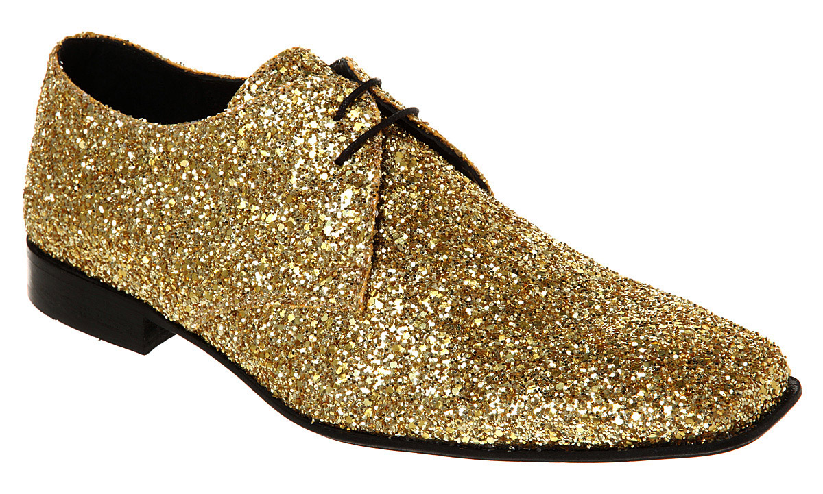 mens ask the missus arrivista lace gold glitter shoes ebay