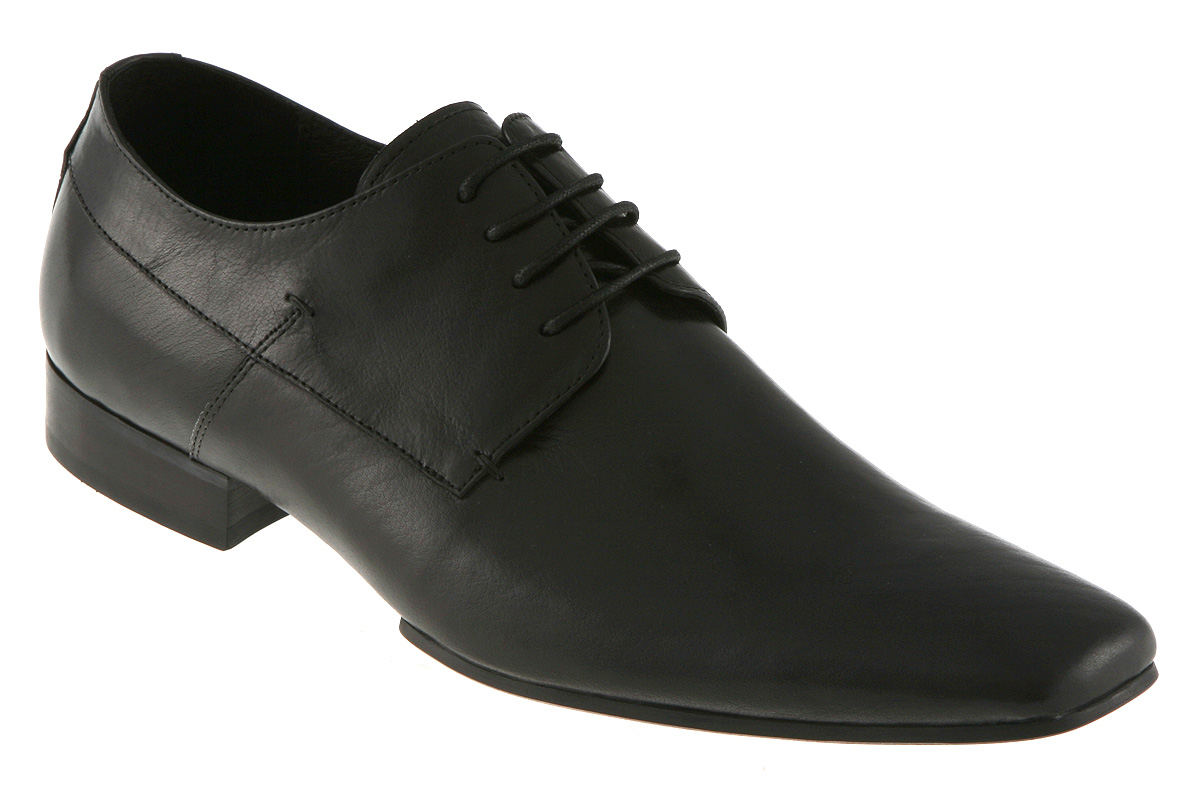 mens office branwell lace gibson black leather shoes