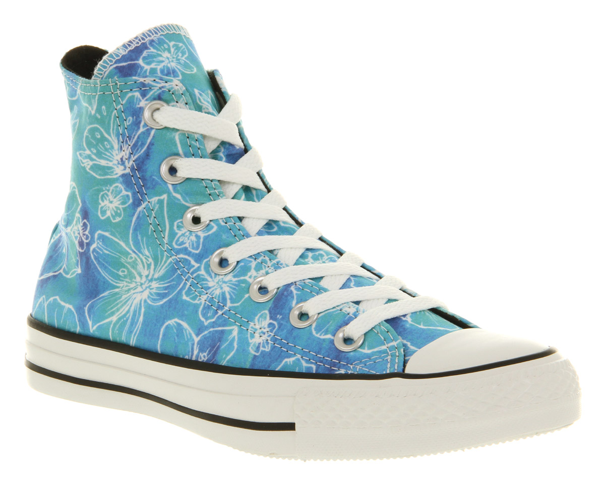 Converse-All-Star-Hi-Blue-Floral-Smu-Trainers-Shoes