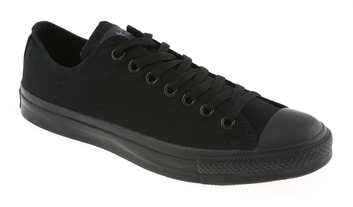 converse all star black. converse-all-star-ox-low-black-mono-canvas converse all star black n