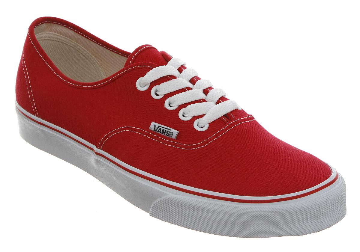 Women S Shoes Vans Red