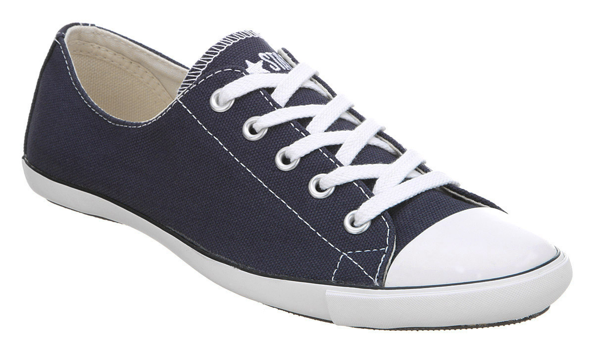 Authentic Women's Converse Ct Lite Ox Navy White Shoes